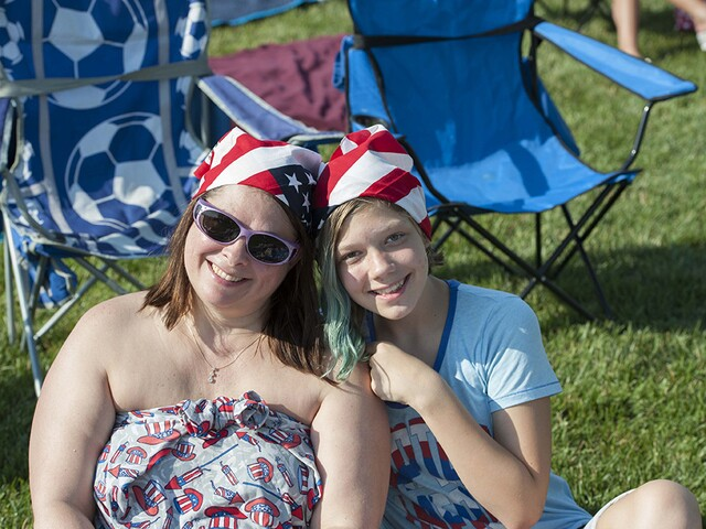 Fireworks and funnel cake at Red, White and Blue Ash 2017