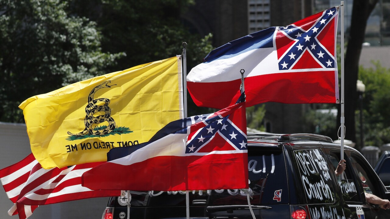 Baptist group: Remove rebel symbol from Mississippi flag
