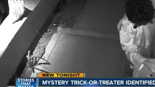 Trick-or-treater who gave all his candy away identified