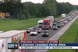 FDOT: Interstate lanes will not be reversed in storm evacuations