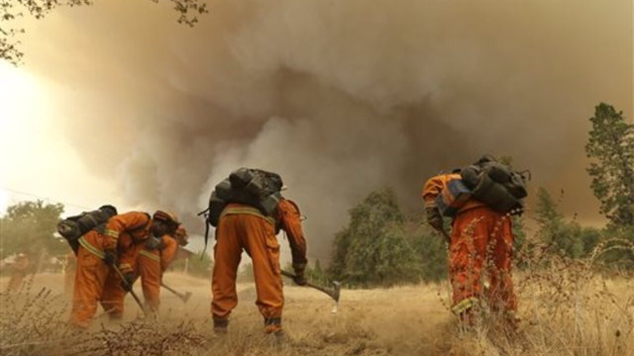 Deadly NorCal wildfire incinerates homes
