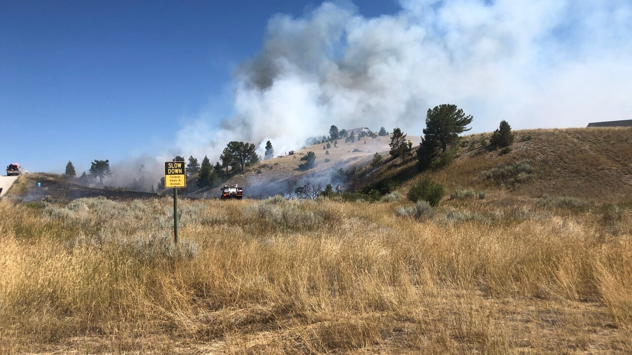 Fire crews respond to multiple fire in the Birdseye area