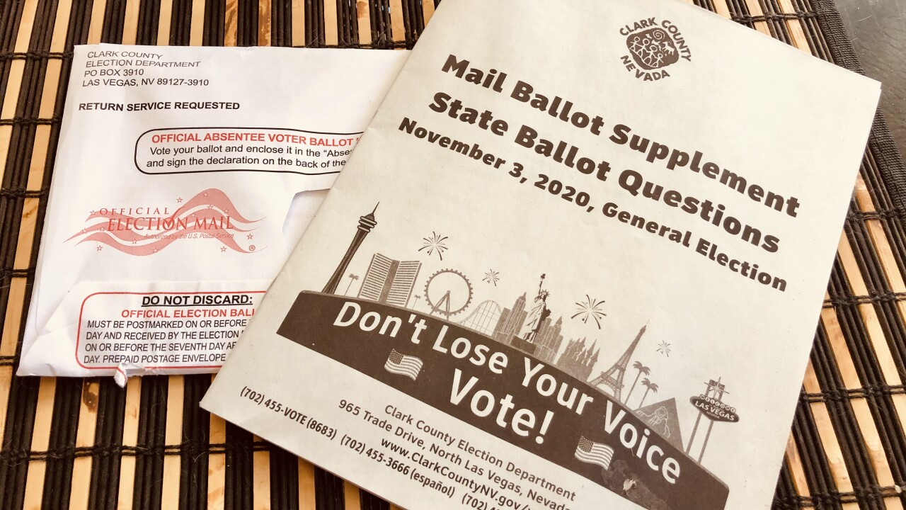 SAMPLE BALLOT AND MAIL-IN BALLOT