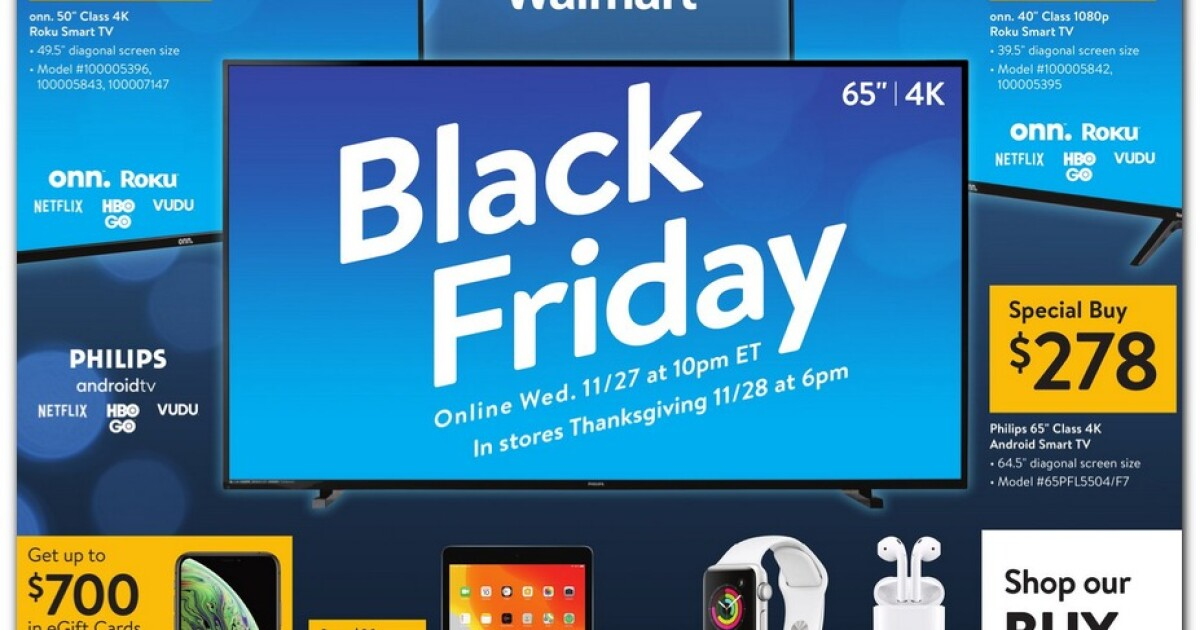 Walmart S 2019 Black Friday Ad Is Out