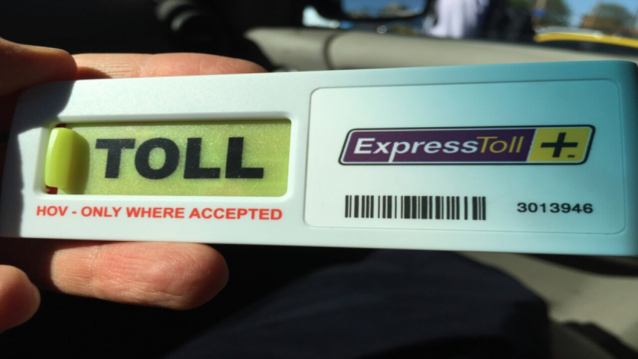 1.2M transactions on new express lanes so far