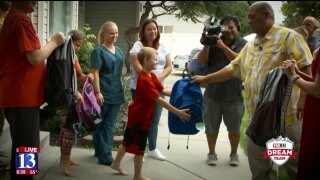 Families in need get back-to-school gifts from Fox 13 Dream Team
