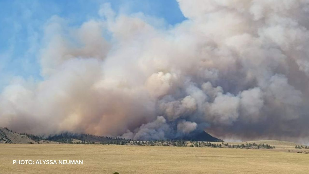 Rock Creek Fire between Craig and Wolf Creek