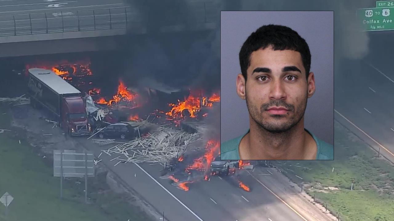 Semi driver faces 40 counts in connection to fiery I-70 crash that