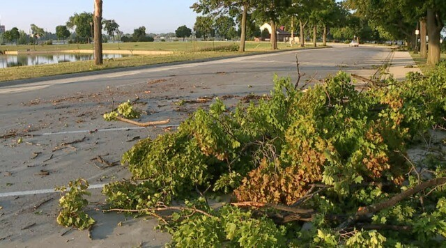 Photo gallery: Storms leave behind major damage on Belle Isle