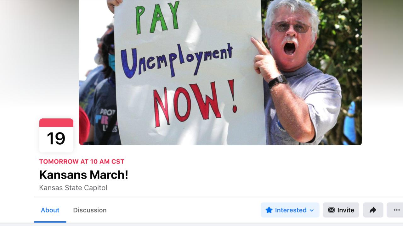 Unemployment marches Kansas