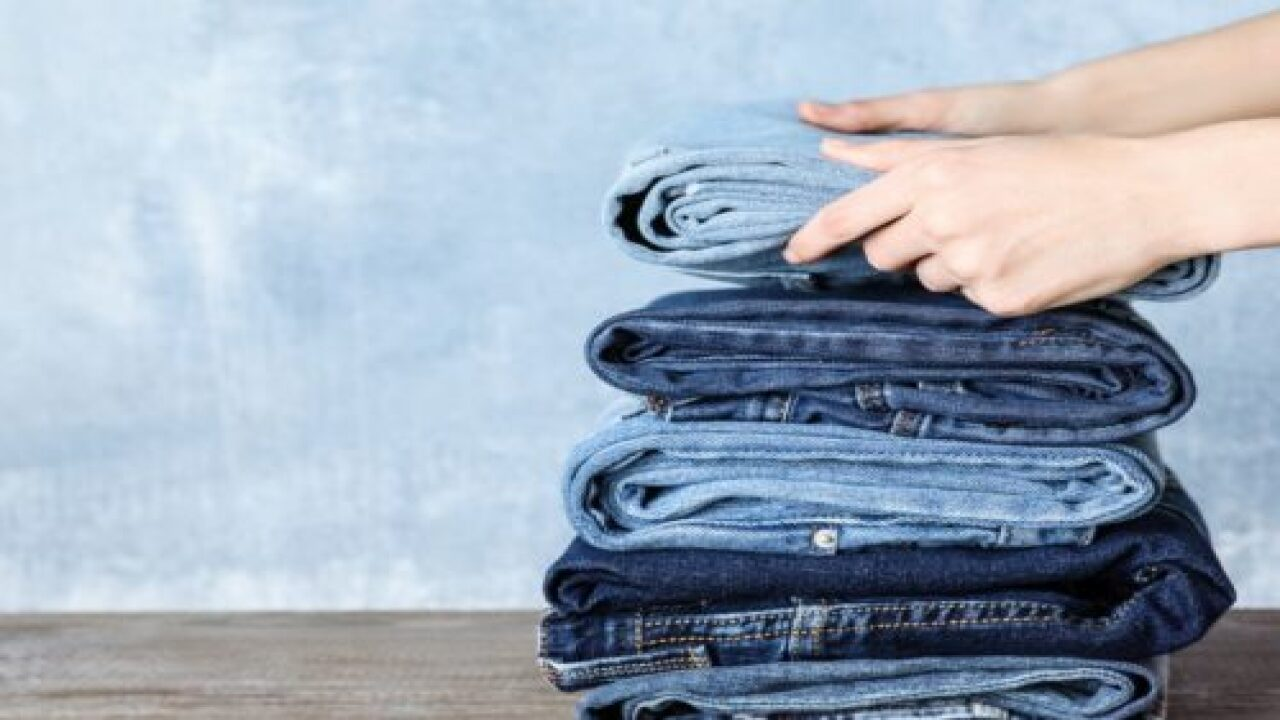 Woman's Genius Jean-folding Trick Is Going Viral