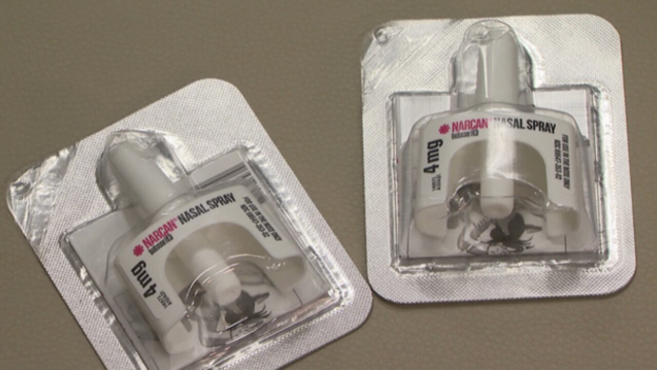 Firefighters See Increase In Use Of Narcan