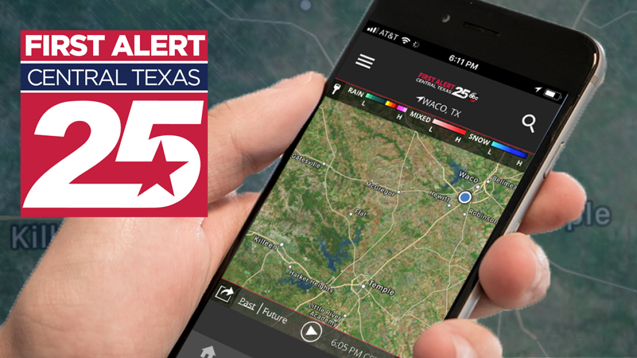 Download the First Alert Weather app!