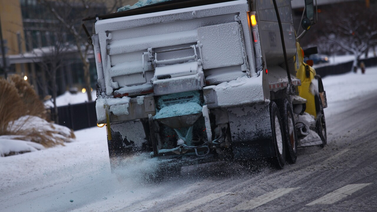 Detroit Deals With Heavy Snow And Bitter Cold