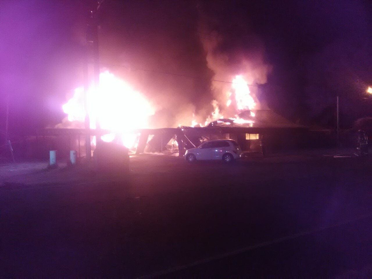 Eunice apartment building fire