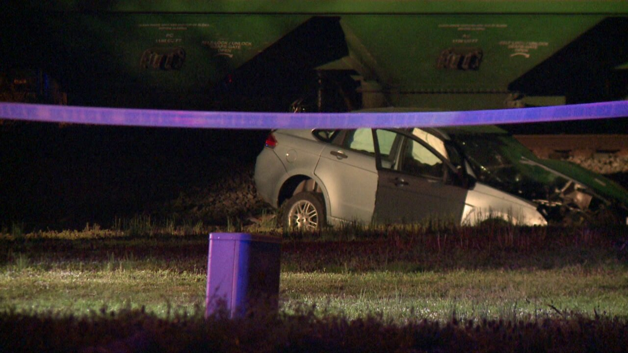 One person dead after train collision involving vehicle in Chesapeake
