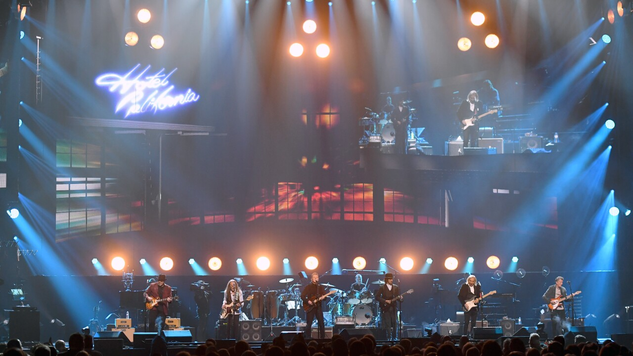 Eagles to perform entire 'Hotel California' album on 2020 tour
