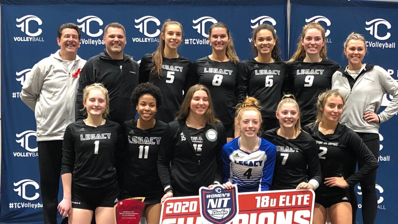 Wxyz Senior Salutes Team Detroit Legacy Volleyball Michigan Elite Volleyball Academy