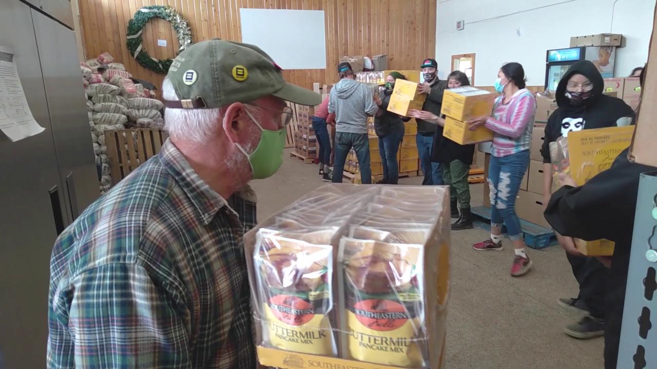Food pantry relies on community to serve Blackfeet Nation