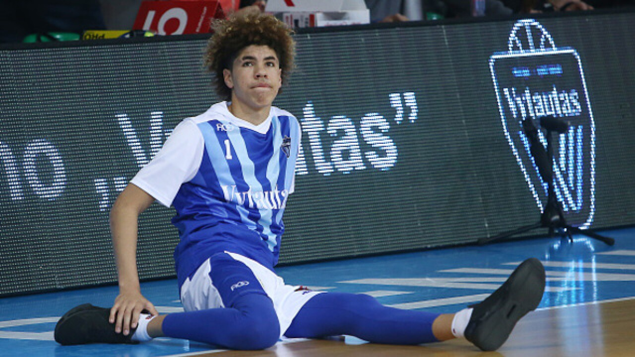 LaMelo Ball enrolls at Spire Institute in Geneva to play high school basketball