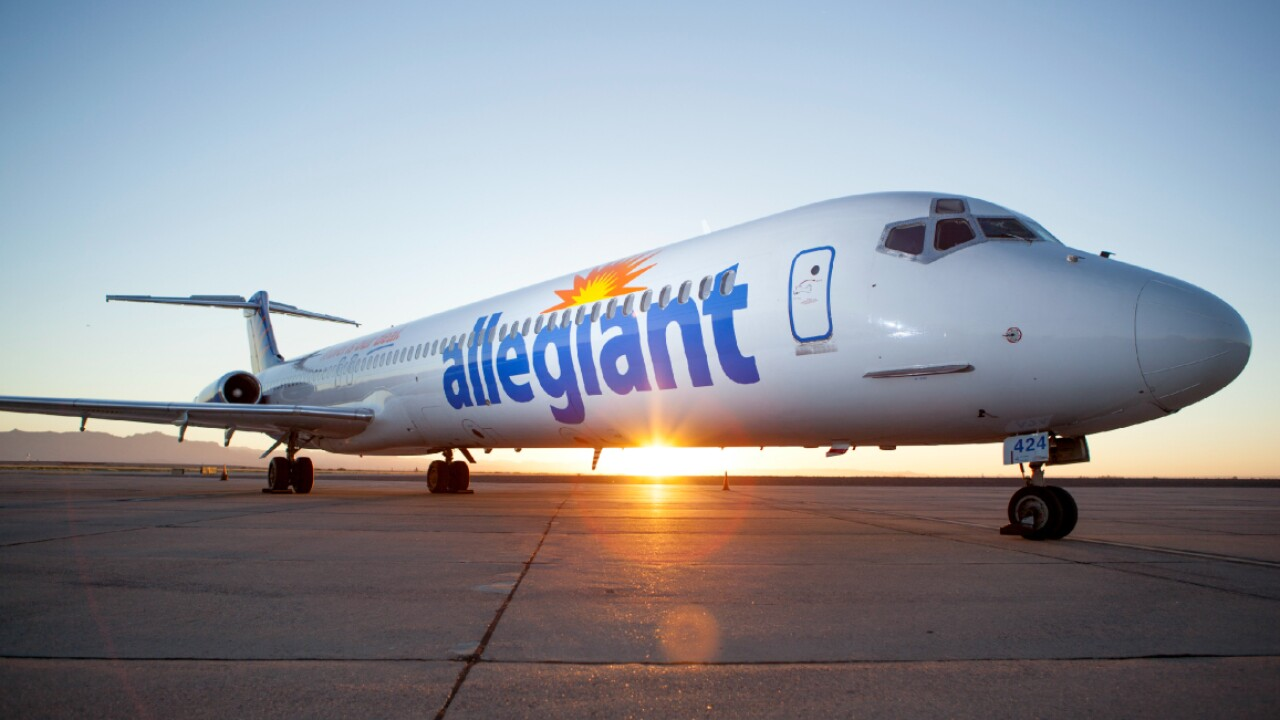 Allegiant announces new nonstop flight from Richmond to Florida