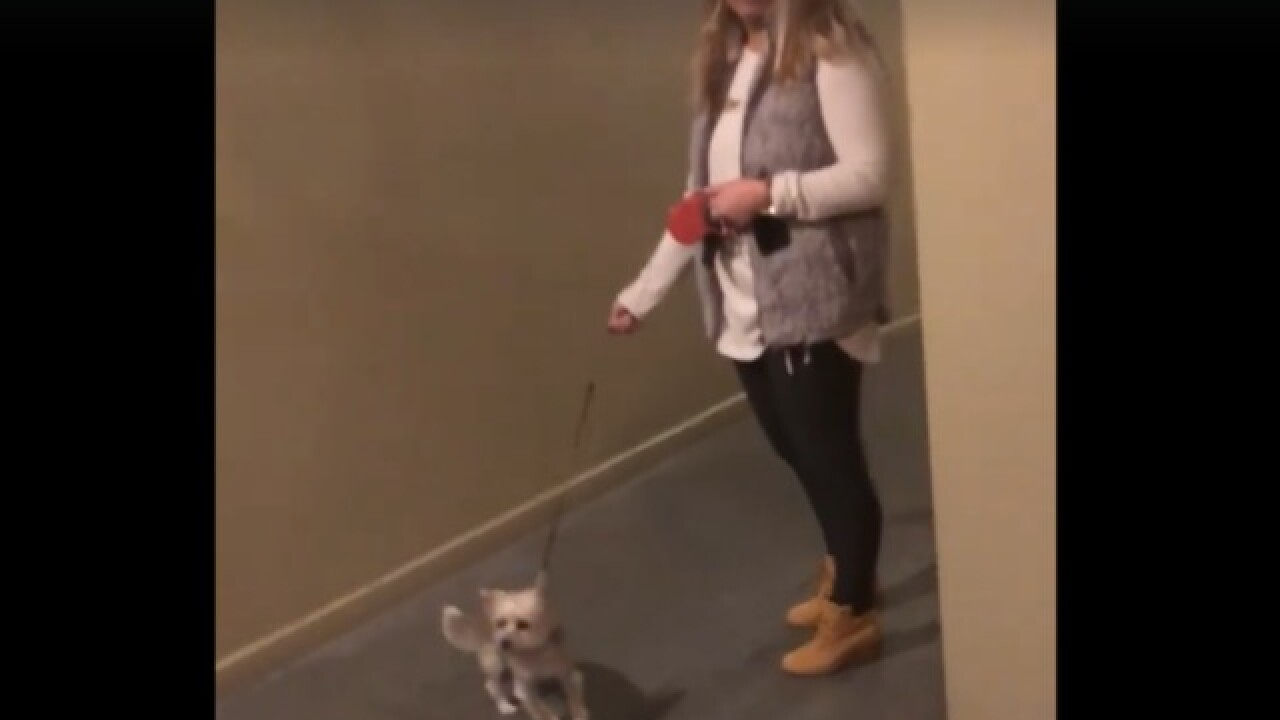 Woman fired after video shows her blocking black man from entering his own apartment building