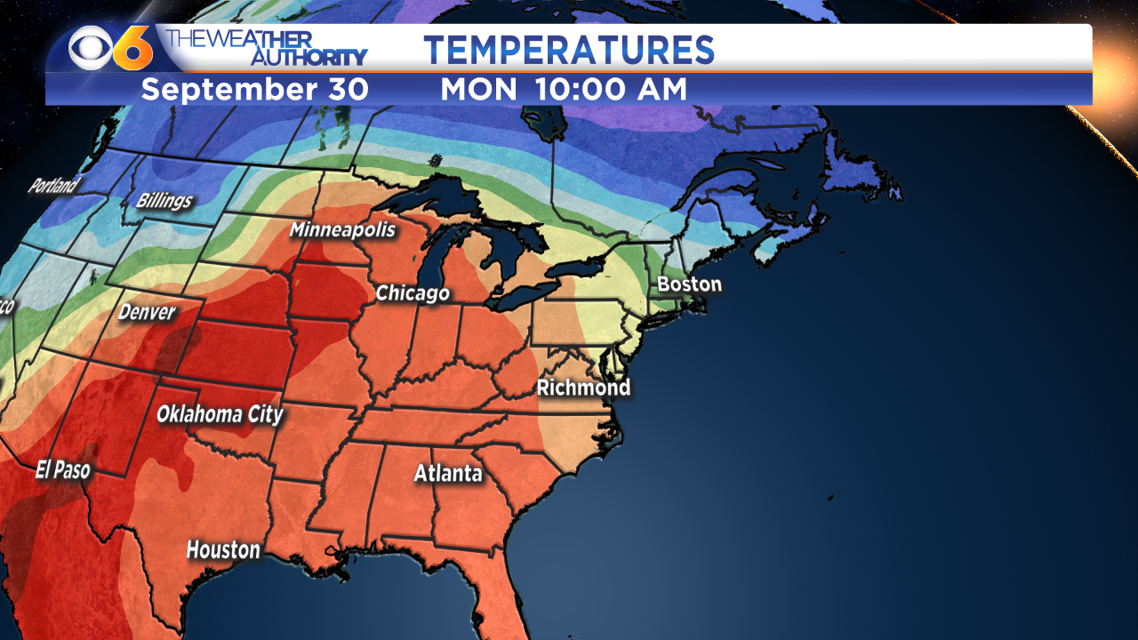 Photos: Record highs possible thisweek