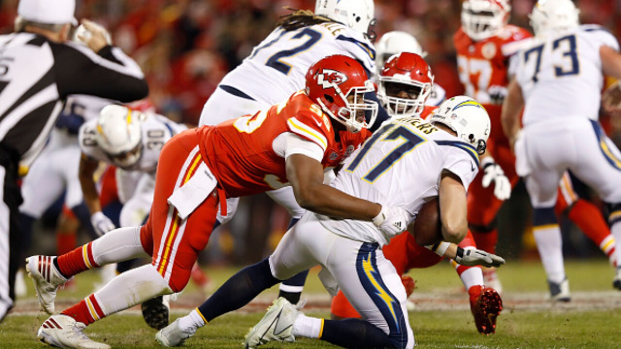 Chiefs' defense prepares to take down Phillips