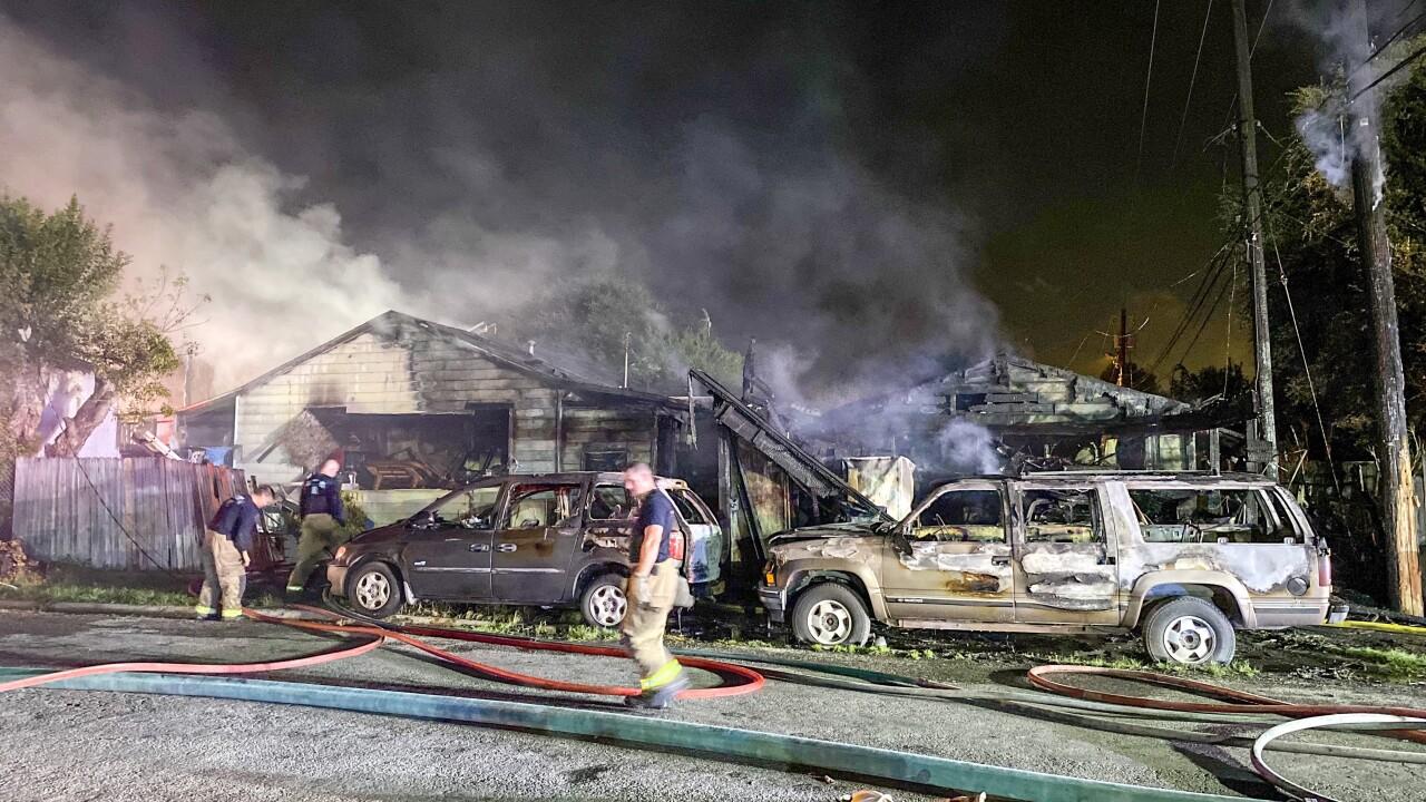 Sarita St House Fire