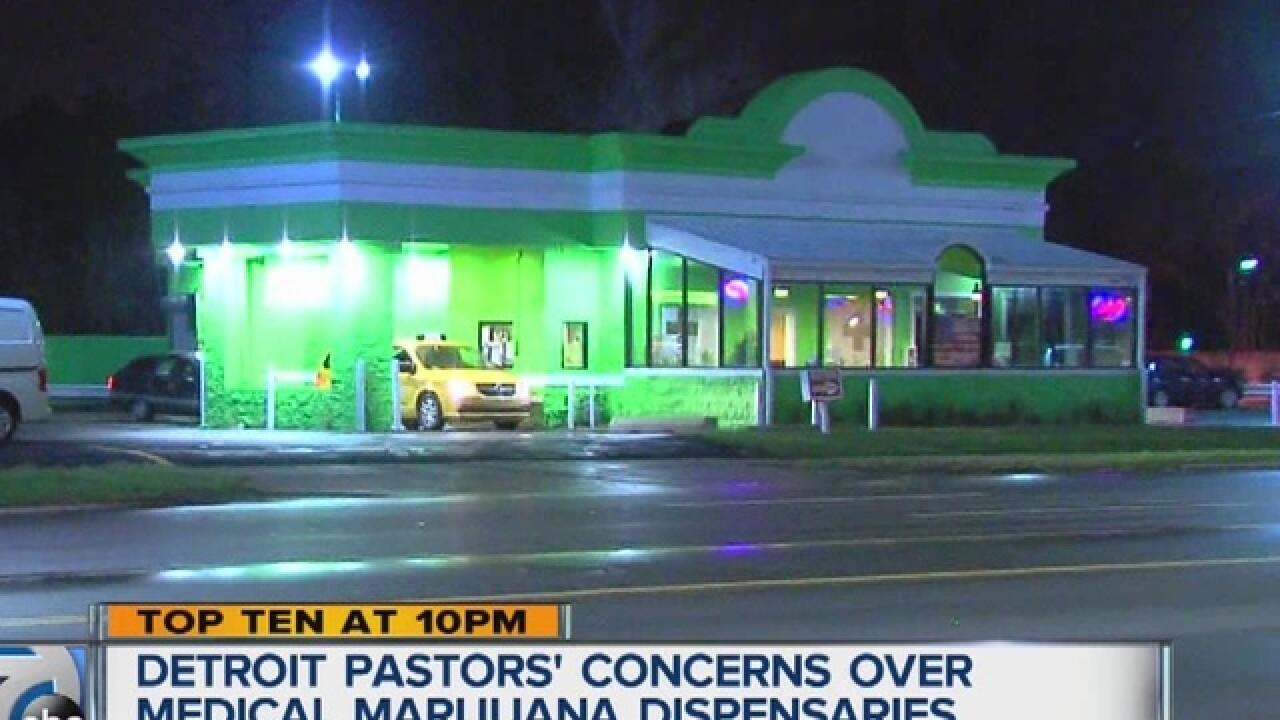 Pastors concerned about marijuana dispensaries