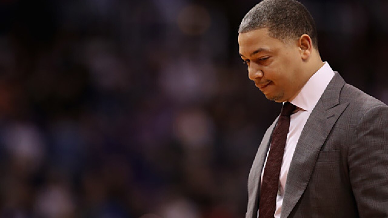 ESPN: Ty Lue to rejoin team as an observer for tonight's game