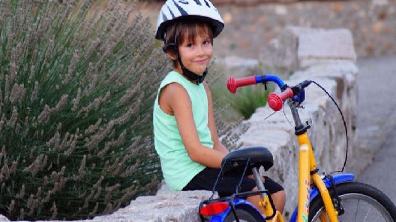 Child safety biking generic