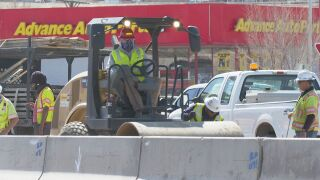 Staying at home is helping CDOT roadwork get done