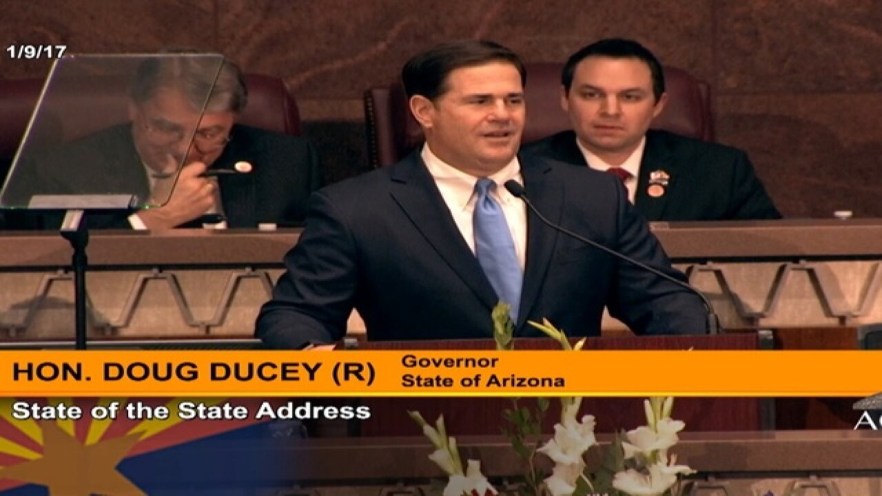 Ducey to outline goals in state of state speech