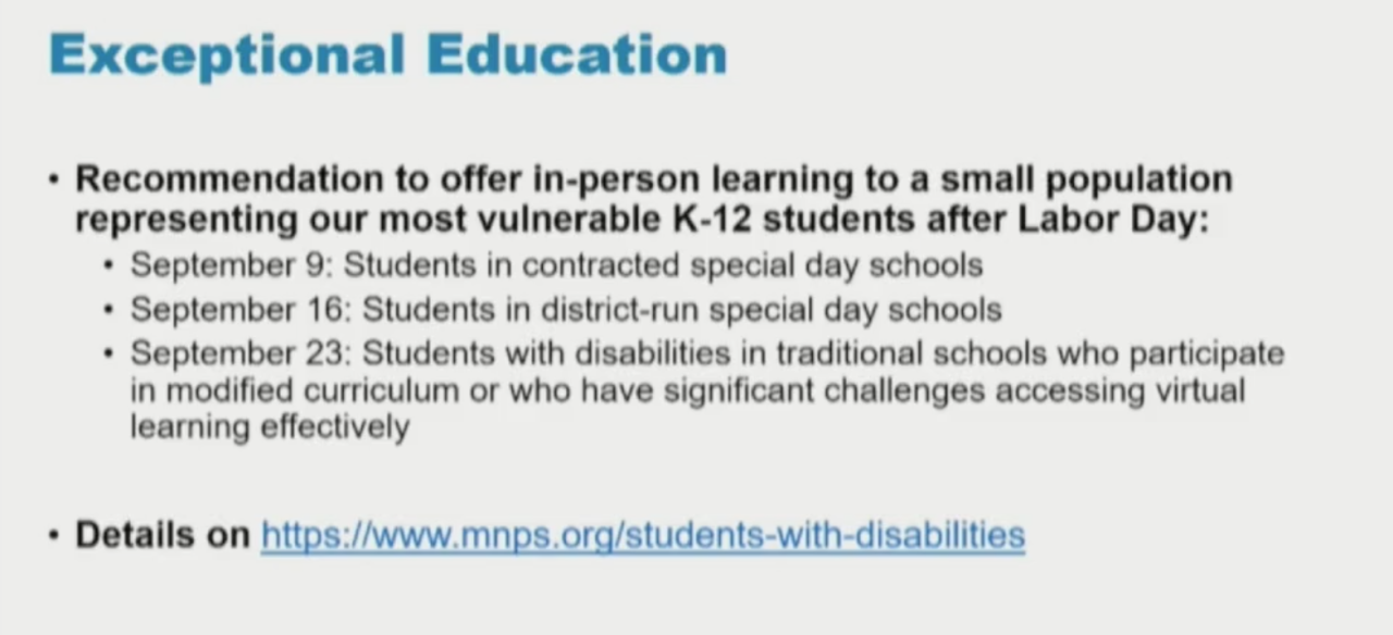 execptional education