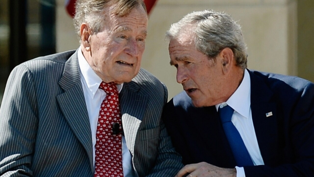 President Bush: 'Being 92 doesn't hurt one bit'
