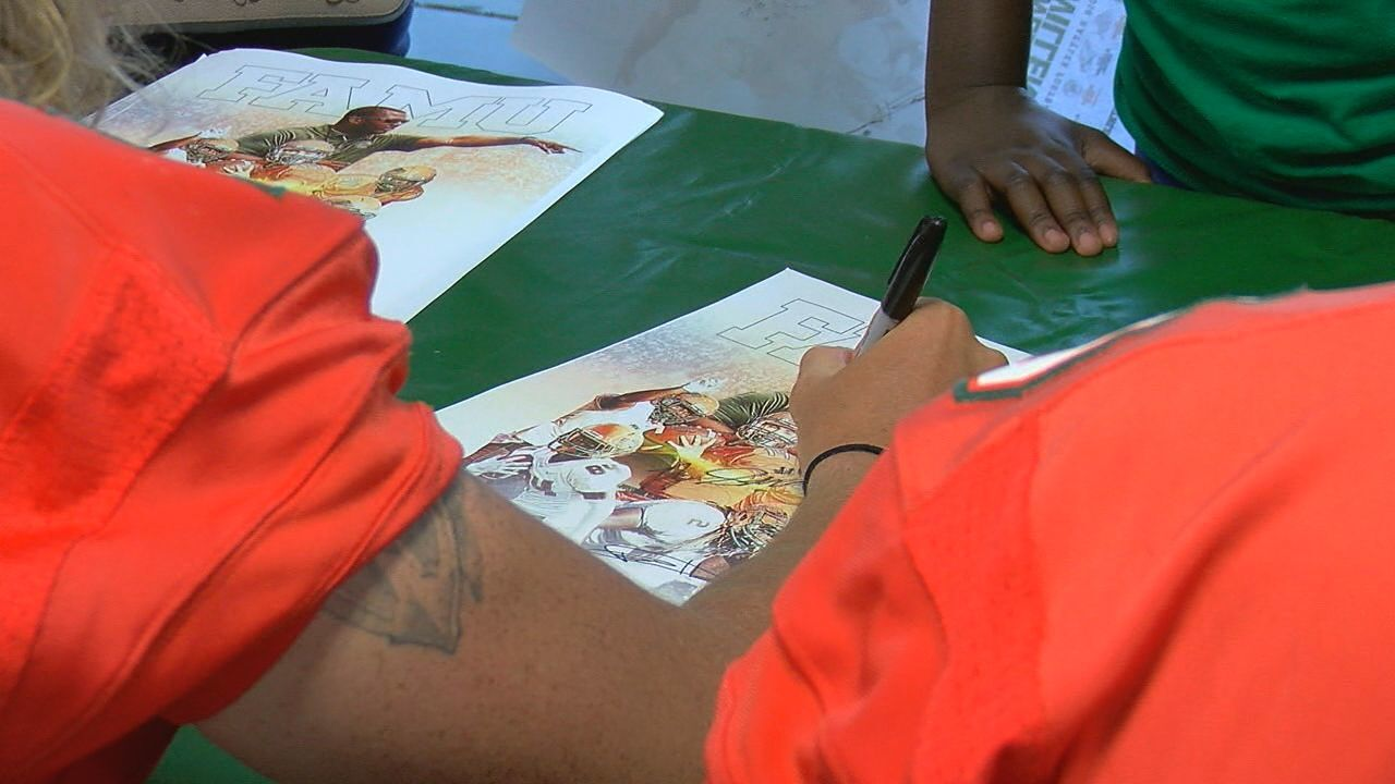 Florida A&M Rattlers Host 2018 Fan Day