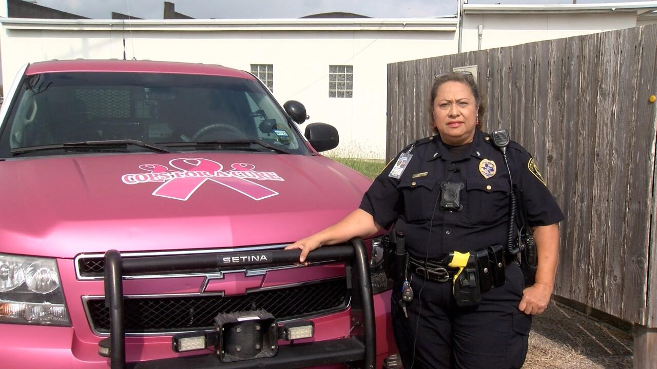 Diana Leal Bishop PD pink car2.jpg