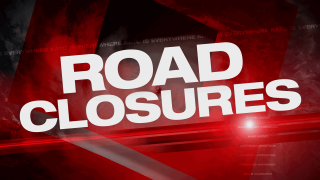 Roads closures in Acadiana