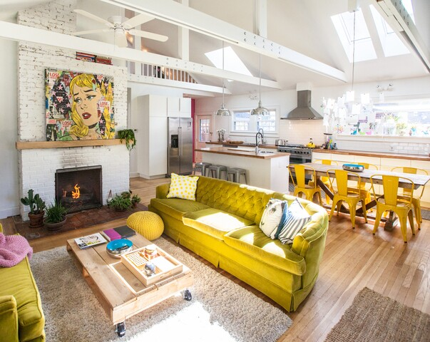 Contemporary, but kid-friendly Broad Ripple bungalow