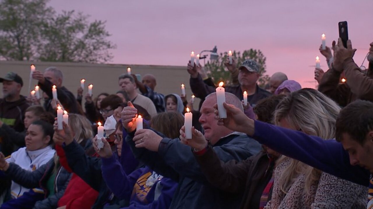 Vigil held for missing Highland County teenager Madison Bell