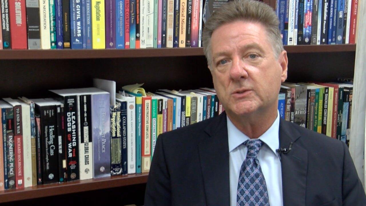 Dr. Robert Lloyd of Palm Beach Atlantic University