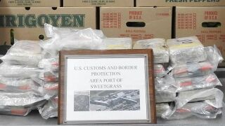 Trucker arrested in Montana after 69+ pounds of cocaine found
