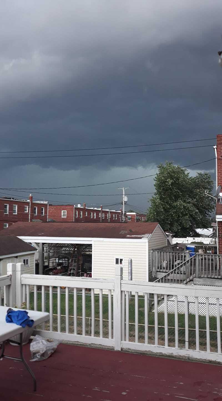 Thunderstorm in Dundalk