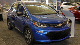 GM recalling nearly 69K Bolt electric cars due to fire risk
