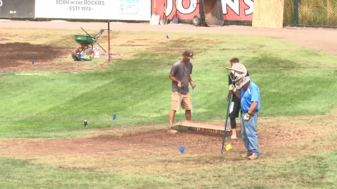 Voyagers and Osprey will play 2 double-headers in Great Falls due to damage at Missoula stadium