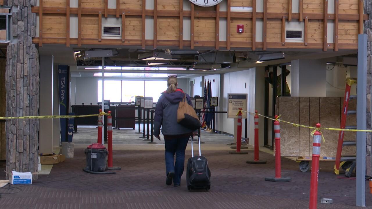 Helena Airport Traveler