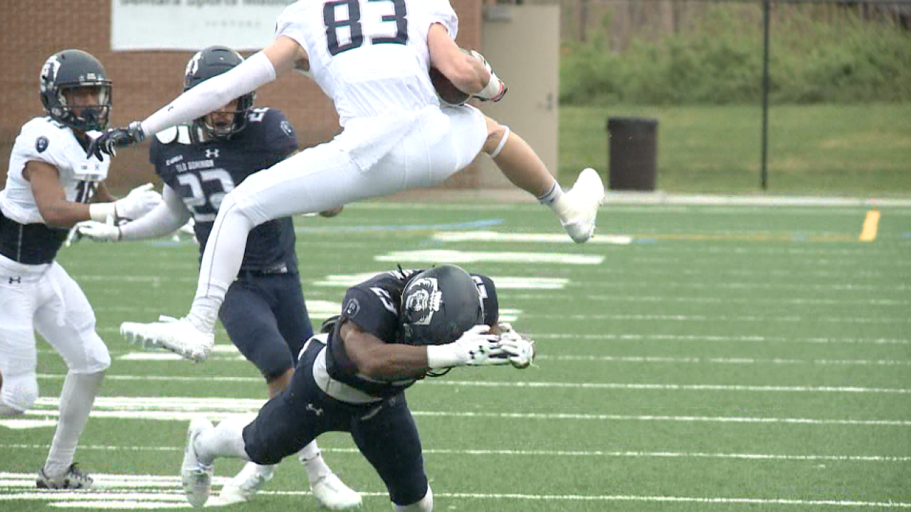 "ODU football embraces ""newness"" at annual Spring Game"