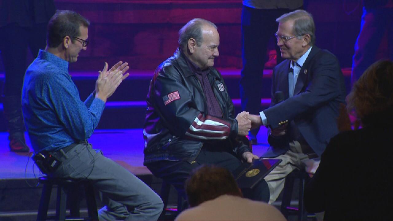 Korean War veteran receives diploma after 63 years