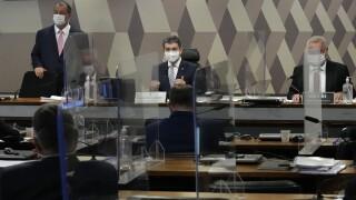 Omar Aziz, Renan Calheiros, Randolfe Rodrigues